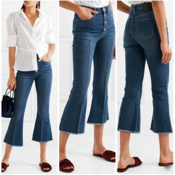 dc9627ad2f Sonia Rykiel Jeans | High Waist Cropped Kick Flair | Poshmark